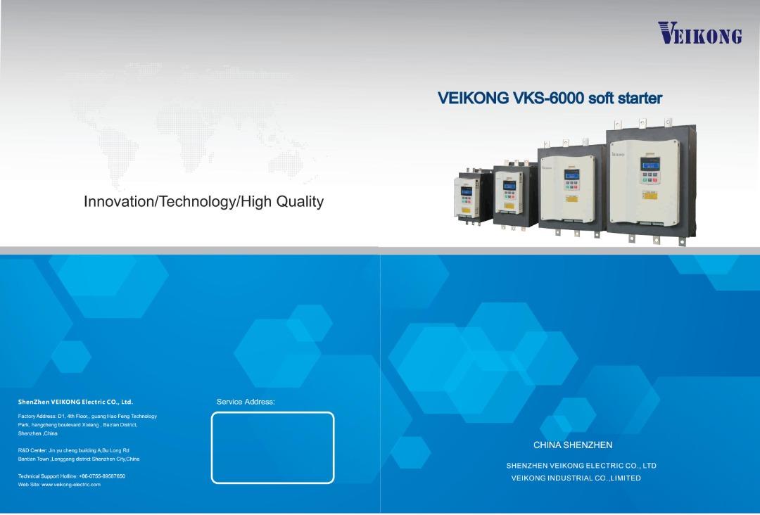 VKS-6000 Soft Starter
